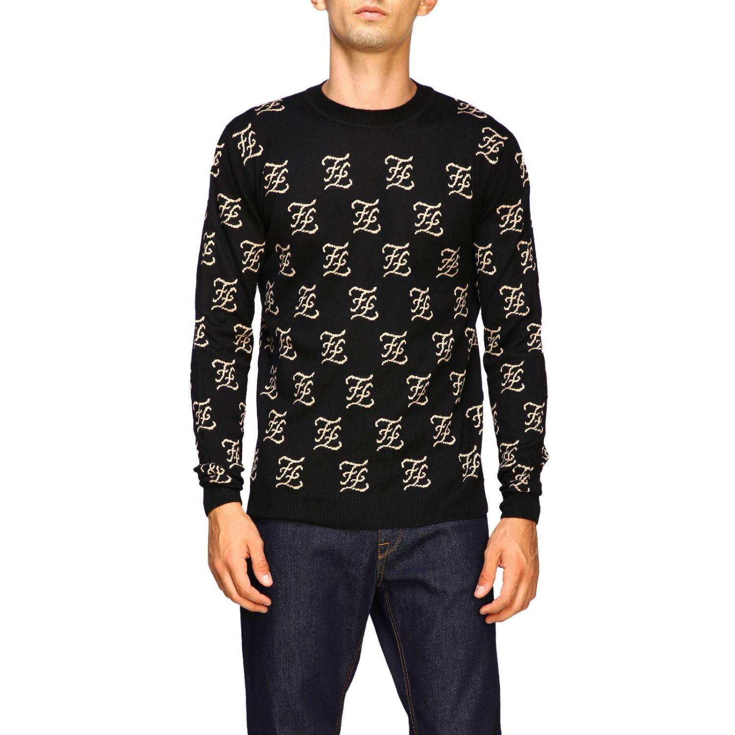 Sweater men Fendi black 1