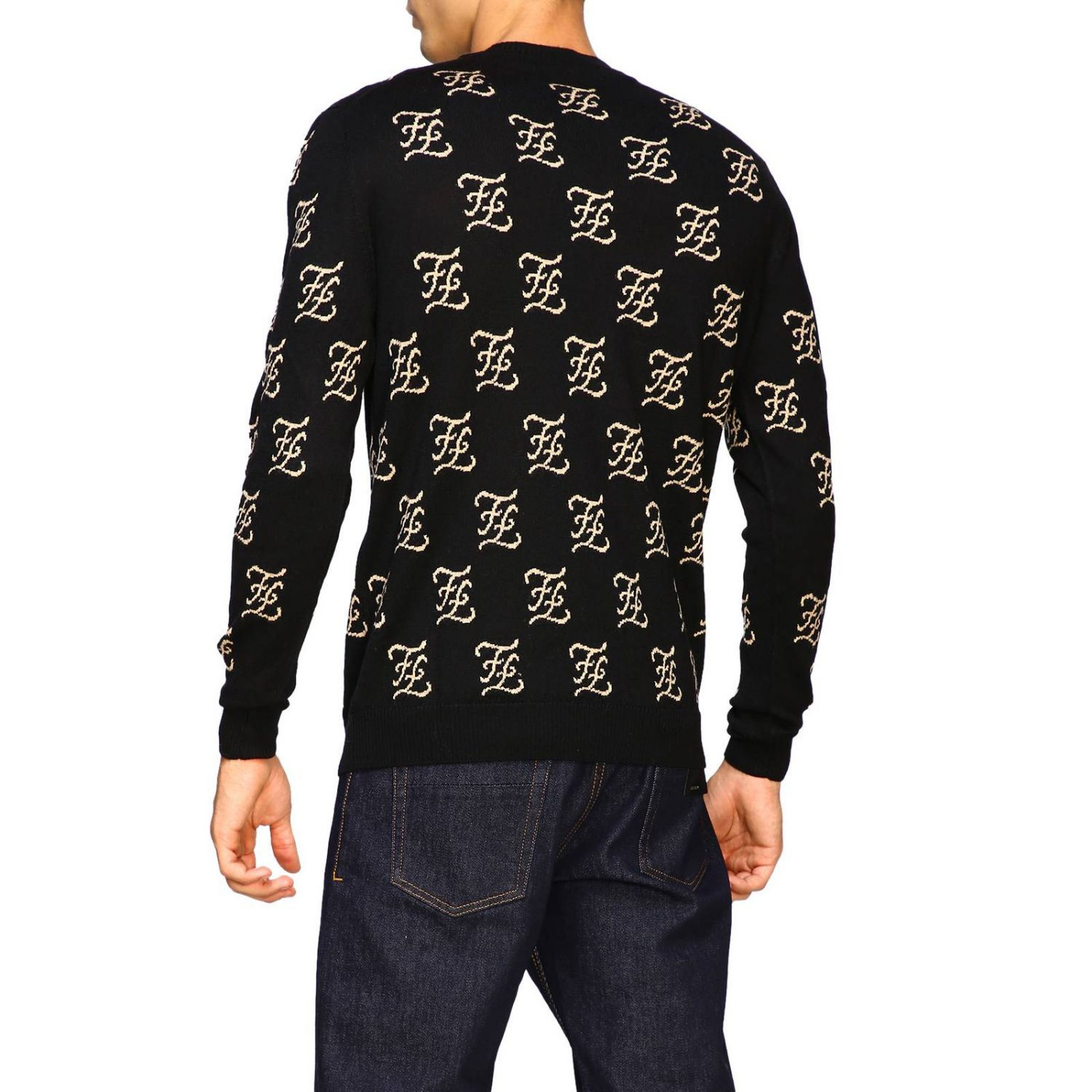 Sweater men Fendi black 3