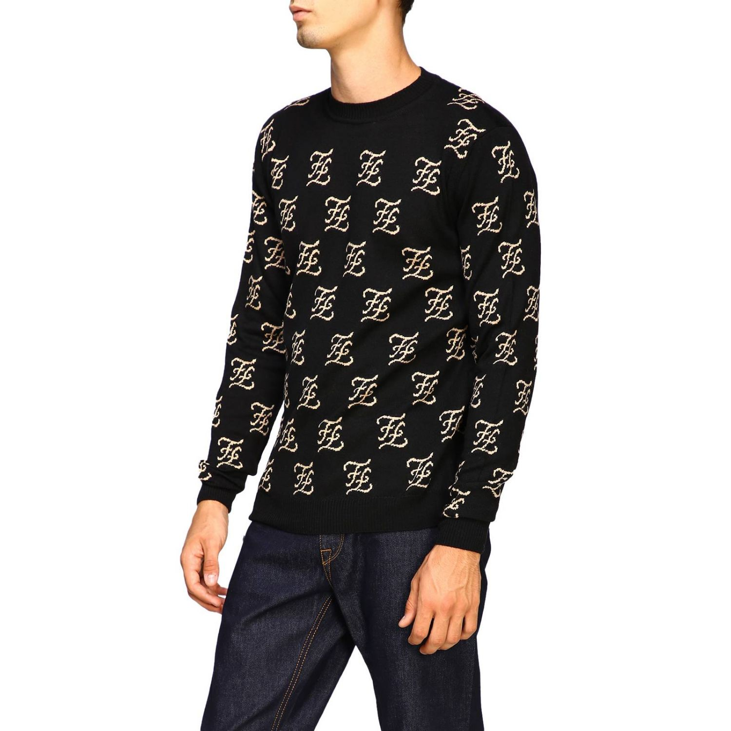 Sweater men Fendi black 4