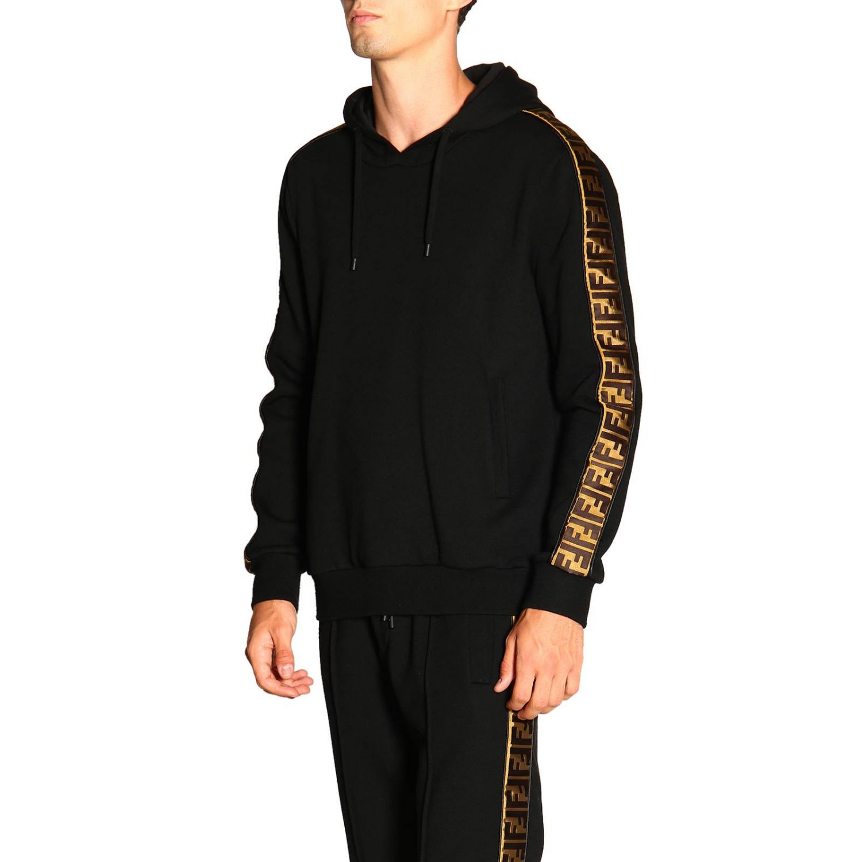 Sweater men Fendi black 4