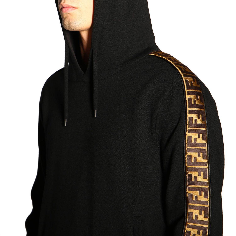 Sweater men Fendi black 5