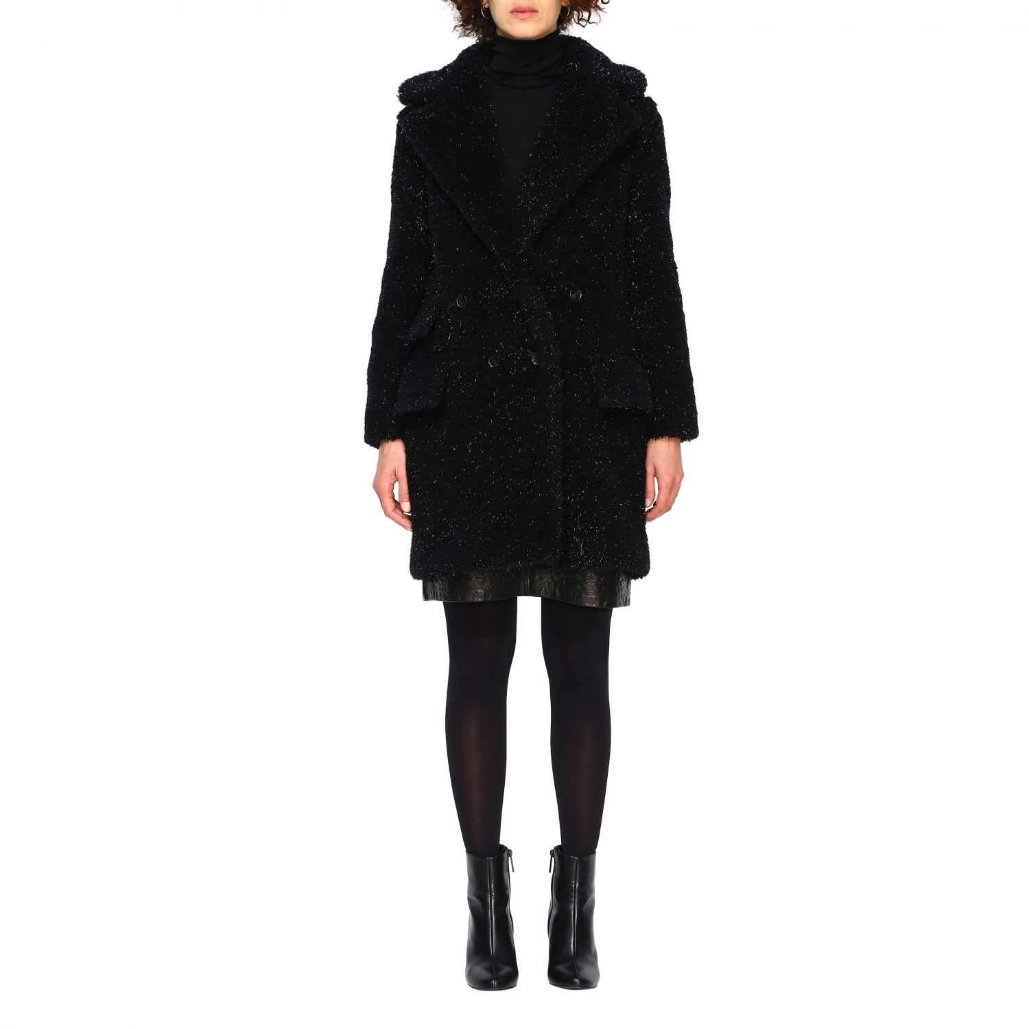 Coat women Max Mara black 1