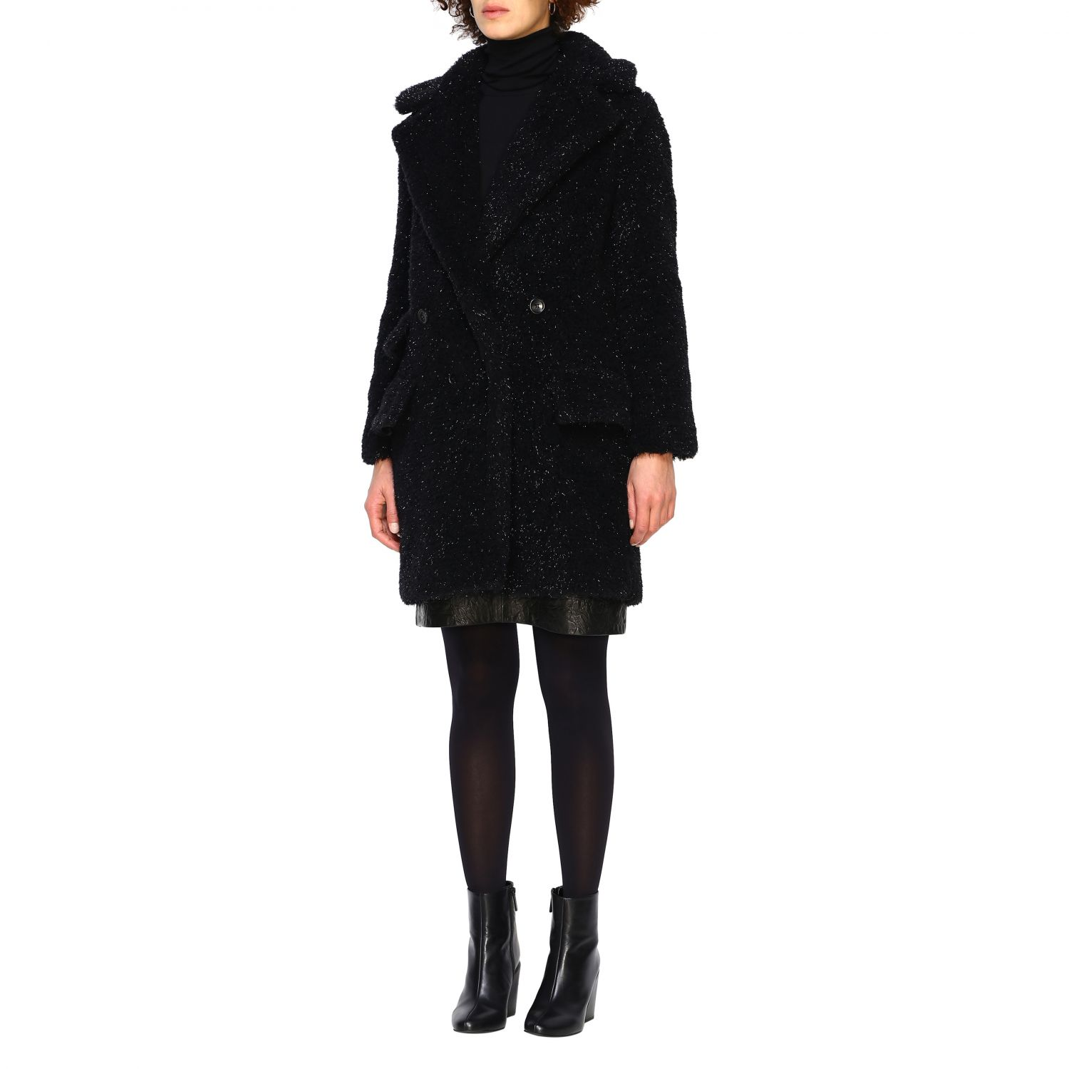 Coat women Max Mara black 4
