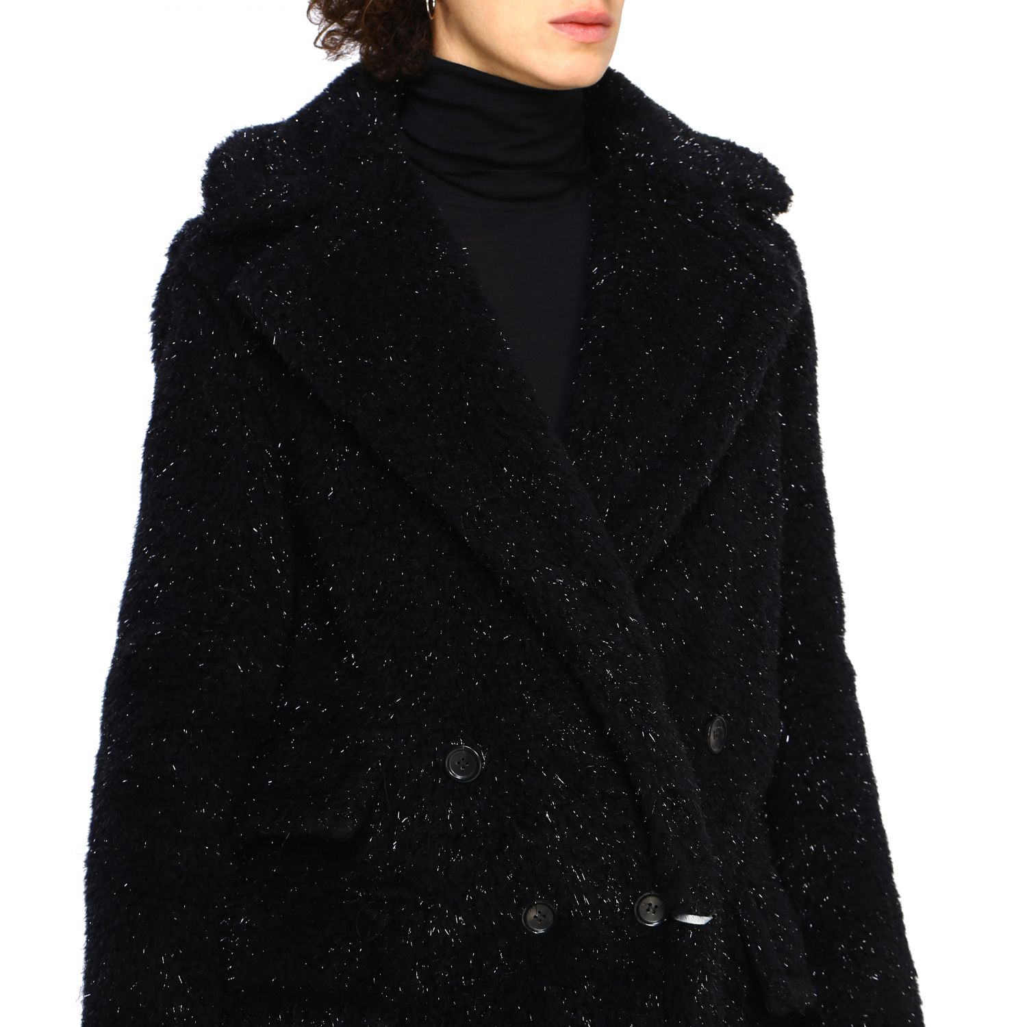 Coat women Max Mara black 5