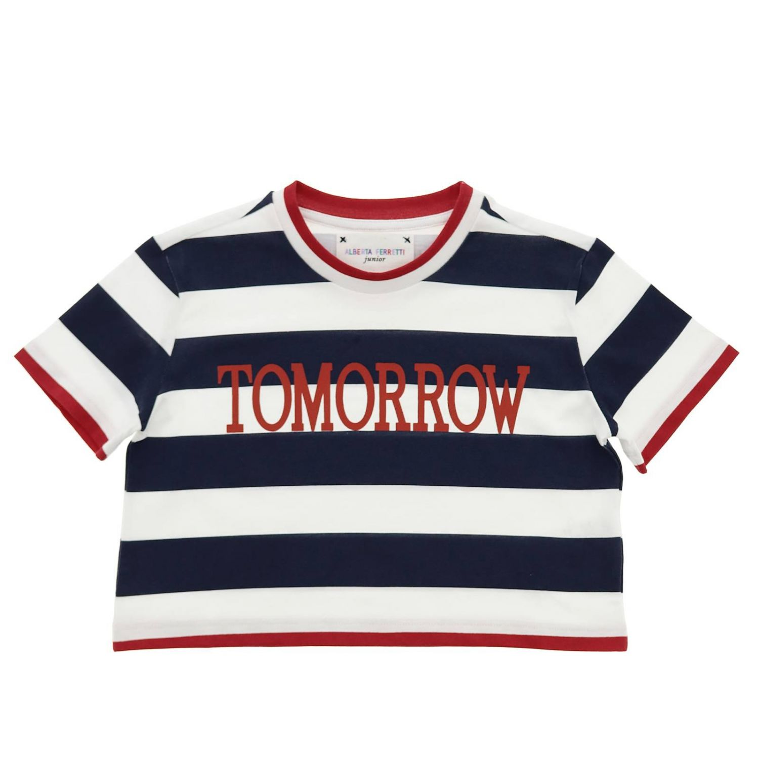 T-shirt enfant Alberta Ferretti Junior bleu 1
