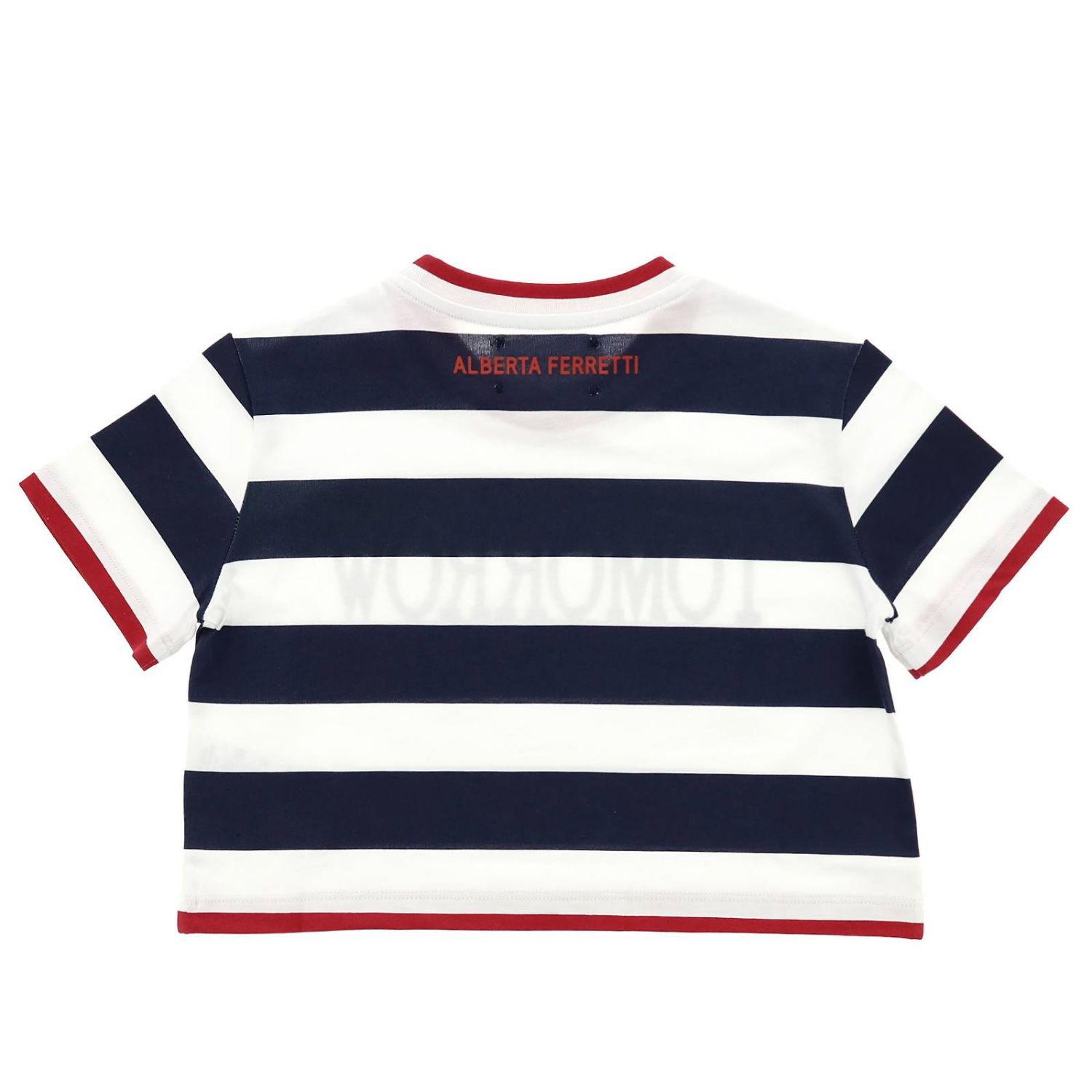 T-shirt enfant Alberta Ferretti Junior bleu 2