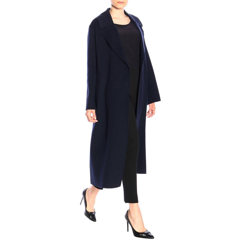 Abrigo mujer S Max Mara azul oscuro 2