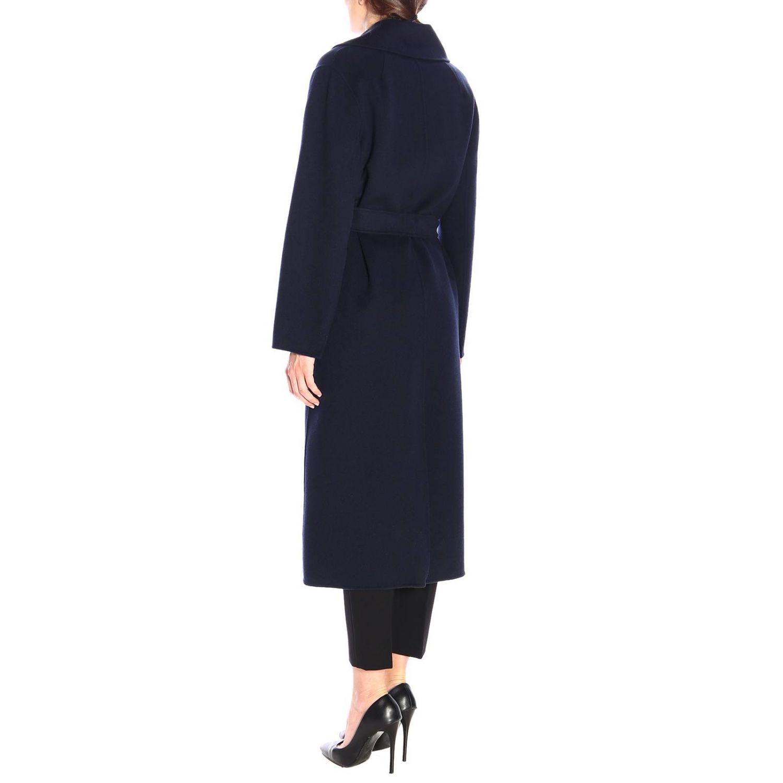 Abrigo mujer S Max Mara azul oscuro 3