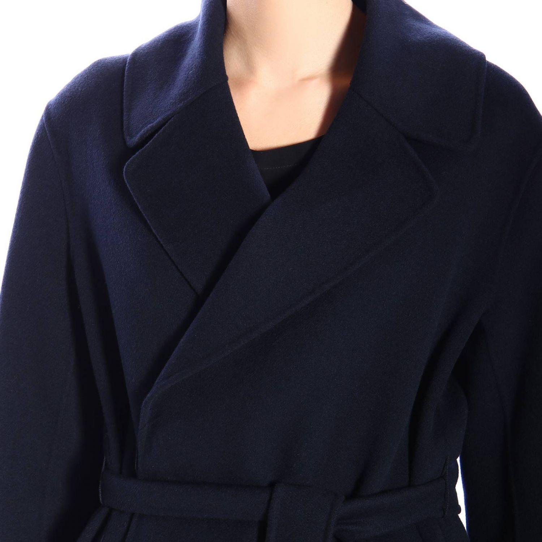 Abrigo mujer S Max Mara azul oscuro 5