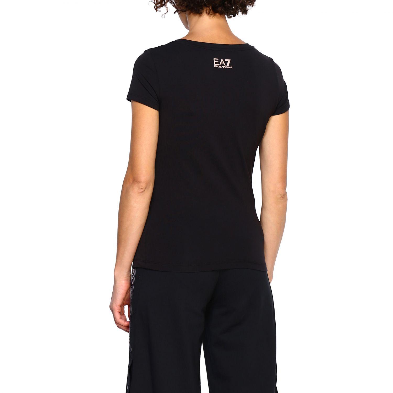 T-Shirt Ea7: T-shirt women Ea7 black 3