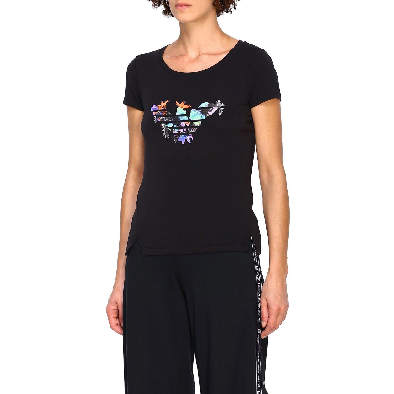 T-Shirt Ea7: T-shirt women Ea7 black 4