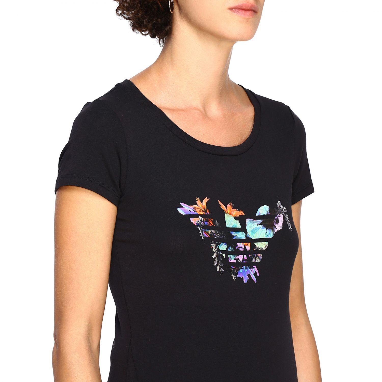 T-Shirt Ea7: T-shirt women Ea7 black 5