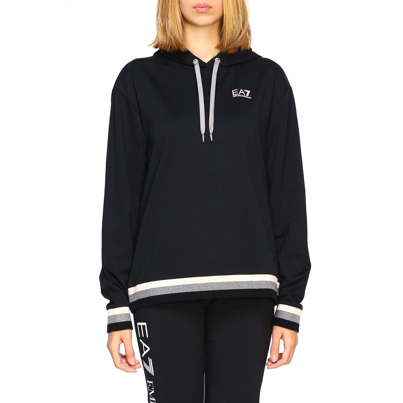 Sweatshirt Ea7: Sweater women Ea7 black 1