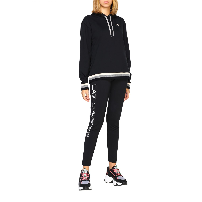 Sweatshirt Ea7: Sweater women Ea7 black 2