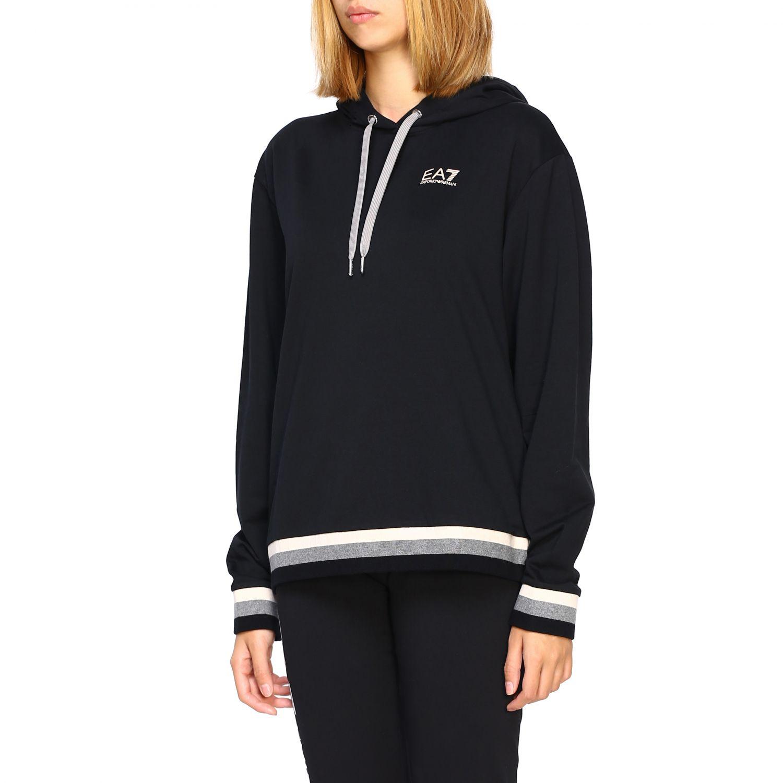 Sweatshirt Ea7: Sweater women Ea7 black 4