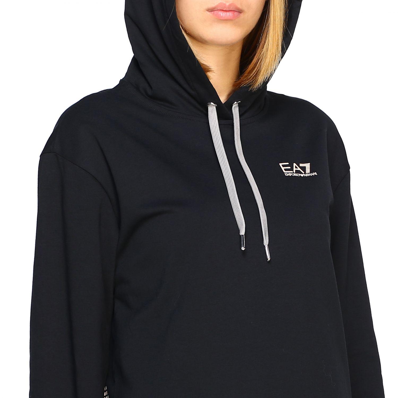 Sweatshirt Ea7: Sweater women Ea7 black 5