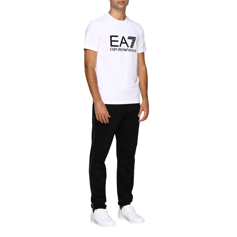 T-shirt herren Ea7 weiß 2