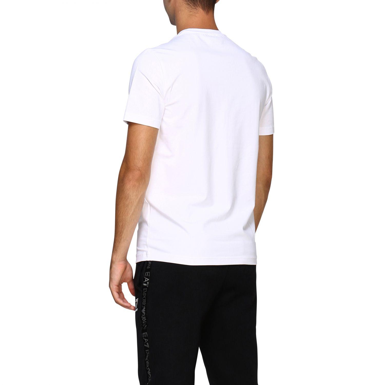 T-shirt herren Ea7 weiß 3