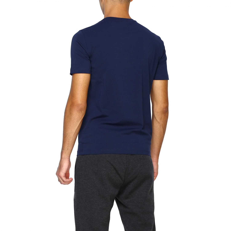 T-shirt homme Ea7 bleu 3
