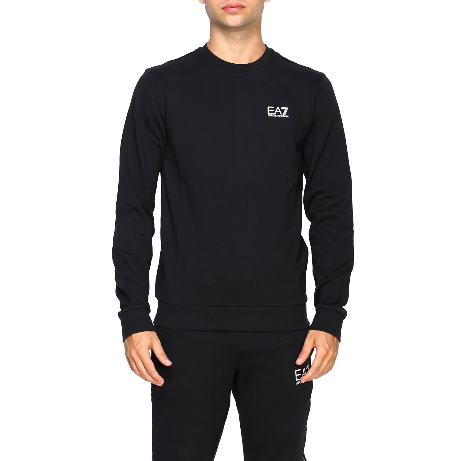 Sweater men Ea7 black 1