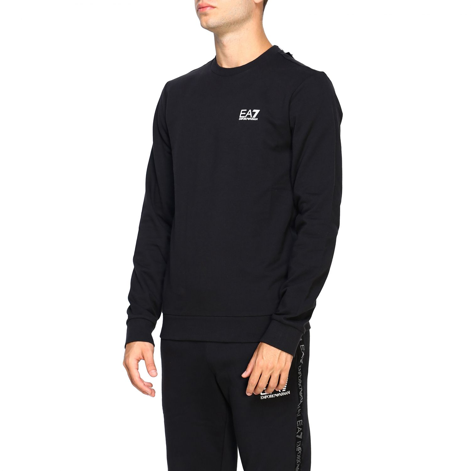 Sweater men Ea7 black 4