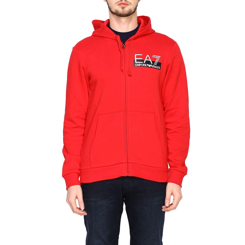 Sweatshirt Ea7: Sweater men Ea7 red 1