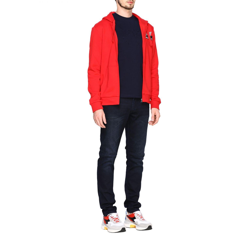 Sweatshirt Ea7: Sweater men Ea7 red 2