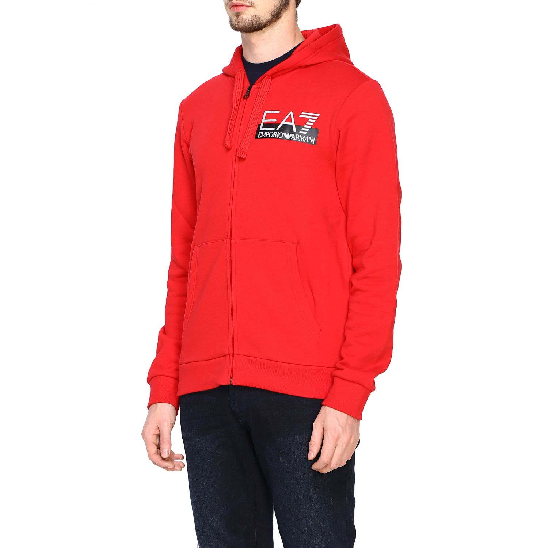 Sweatshirt Ea7: Sweater men Ea7 red 4