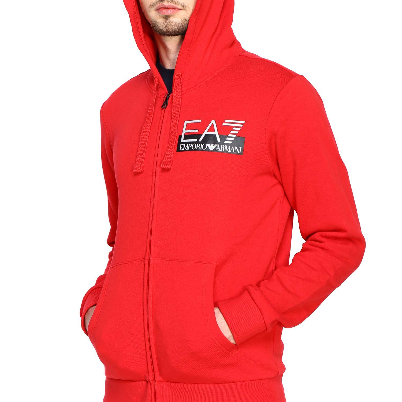 Sweatshirt Ea7: Sweater men Ea7 red 5
