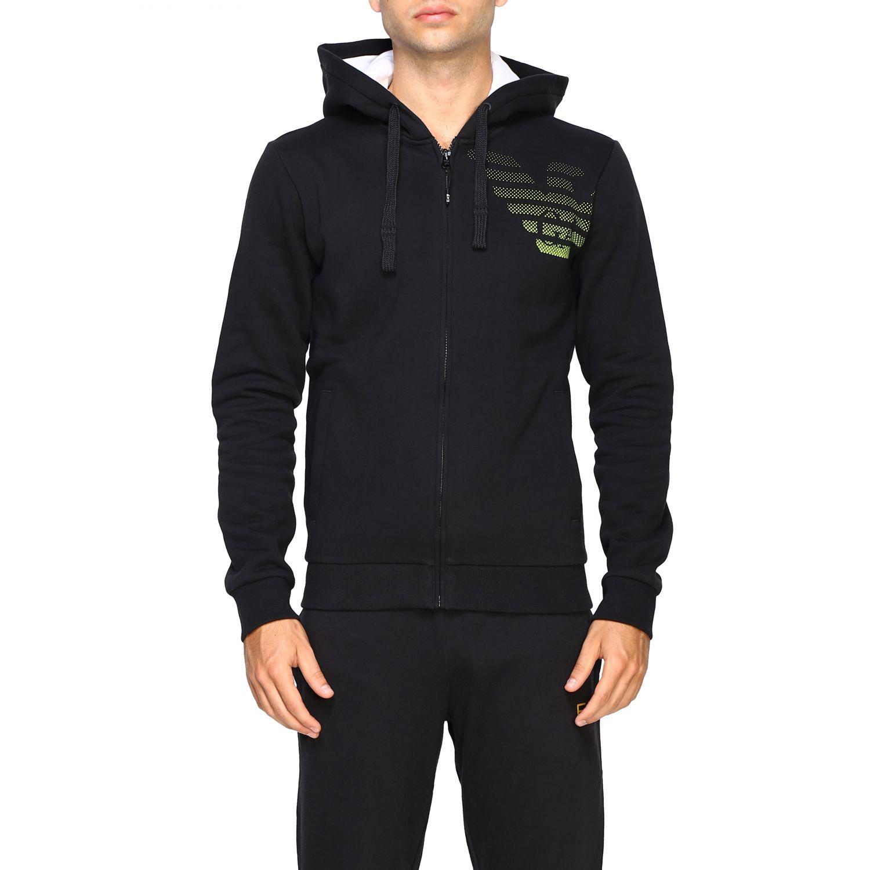 Sweatshirt Ea7: Sweater men Ea7 black 1