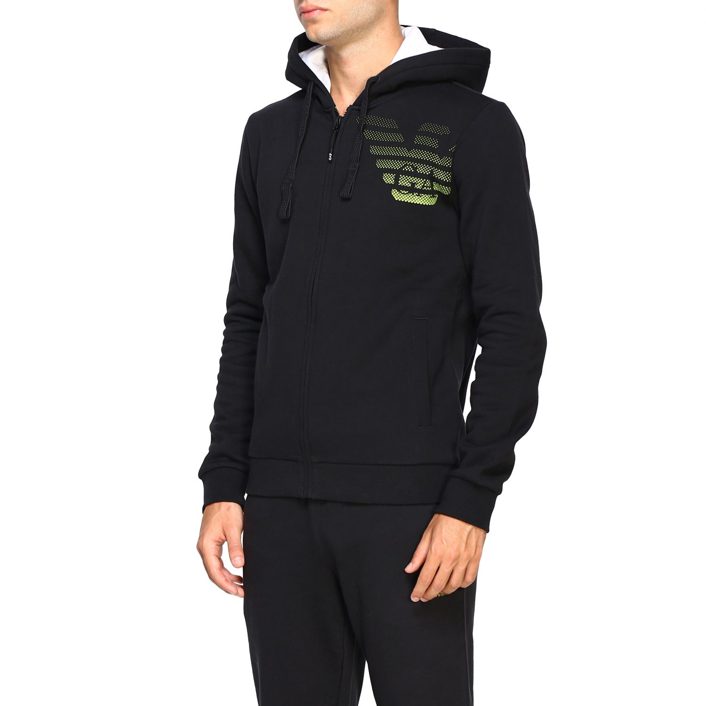 Sweatshirt Ea7: Sweater men Ea7 black 4