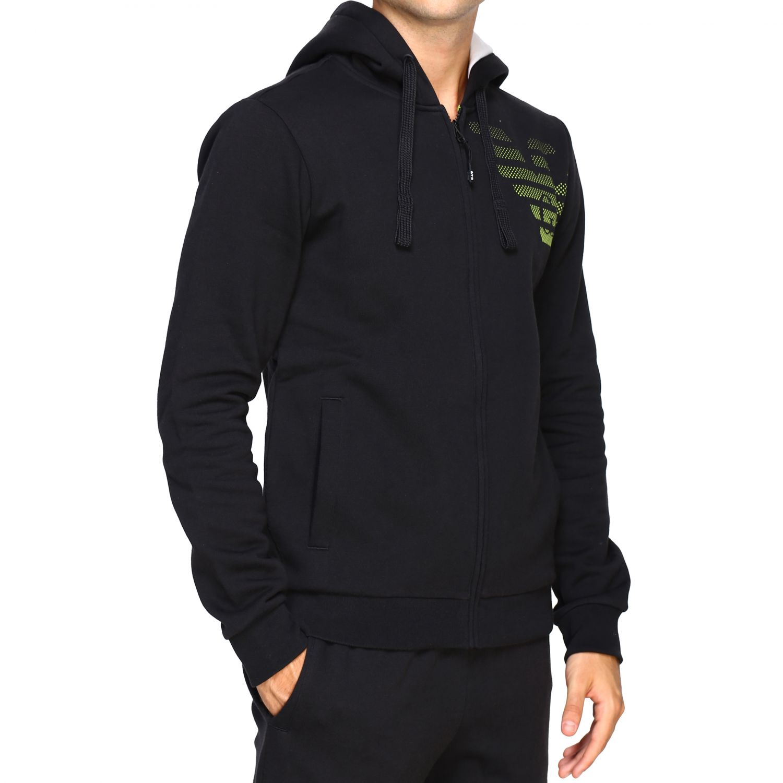 Sweatshirt Ea7: Sweater men Ea7 black 5