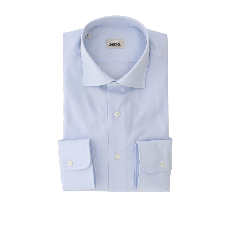 Camisa Alessandro Gherardi: Camisa hombre Alessandro Gherardi celeste 1