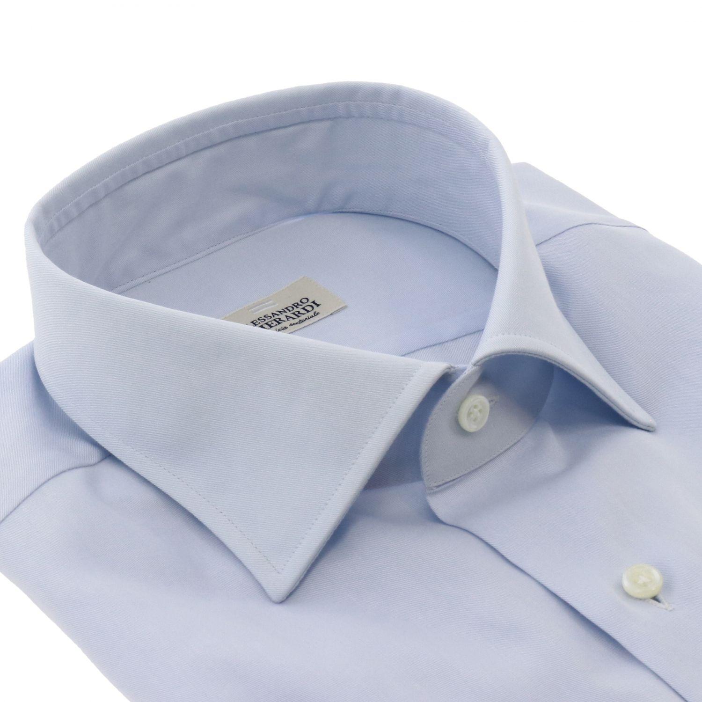 衬衫 Alessandro Gherardi: 衬衫 男士 Alessandro Gherardi 天蓝色 2
