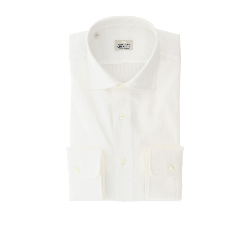 衬衫 男士 Alessandro Gherardi 白色 1