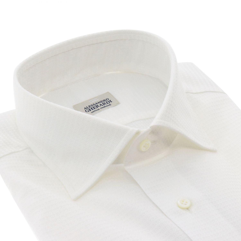 衬衫 男士 Alessandro Gherardi 白色 2