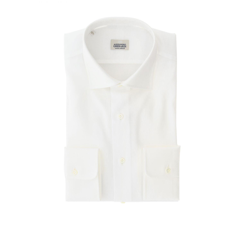 Shirt Alessandro Gherardi: Shirt men Alessandro Gherardi white 1
