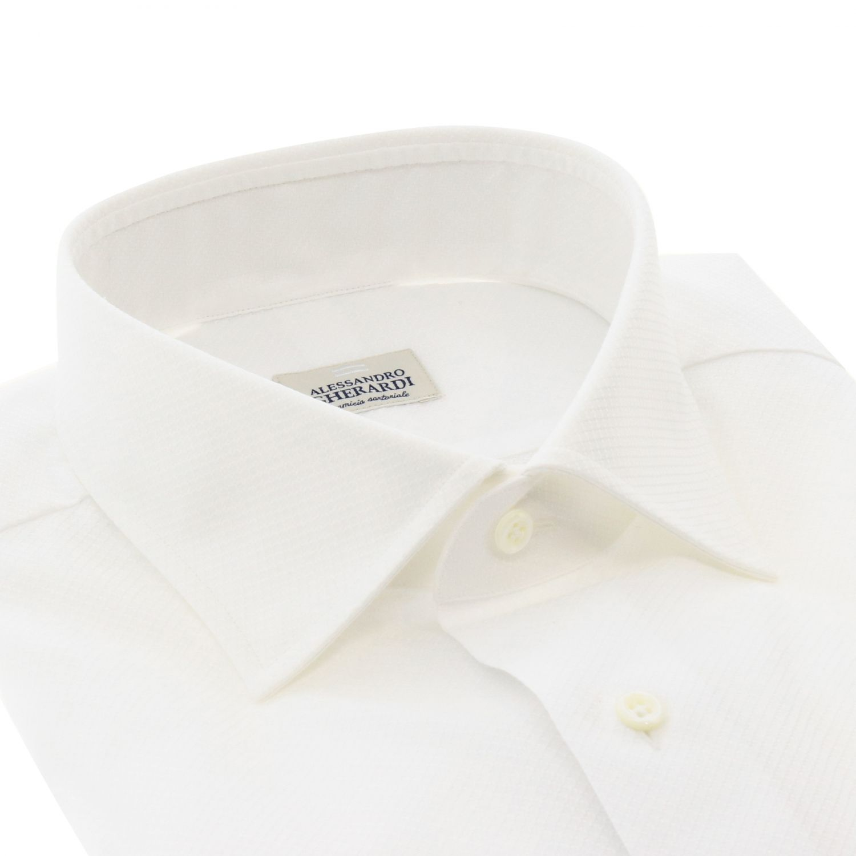 Shirt Alessandro Gherardi: Shirt men Alessandro Gherardi white 2