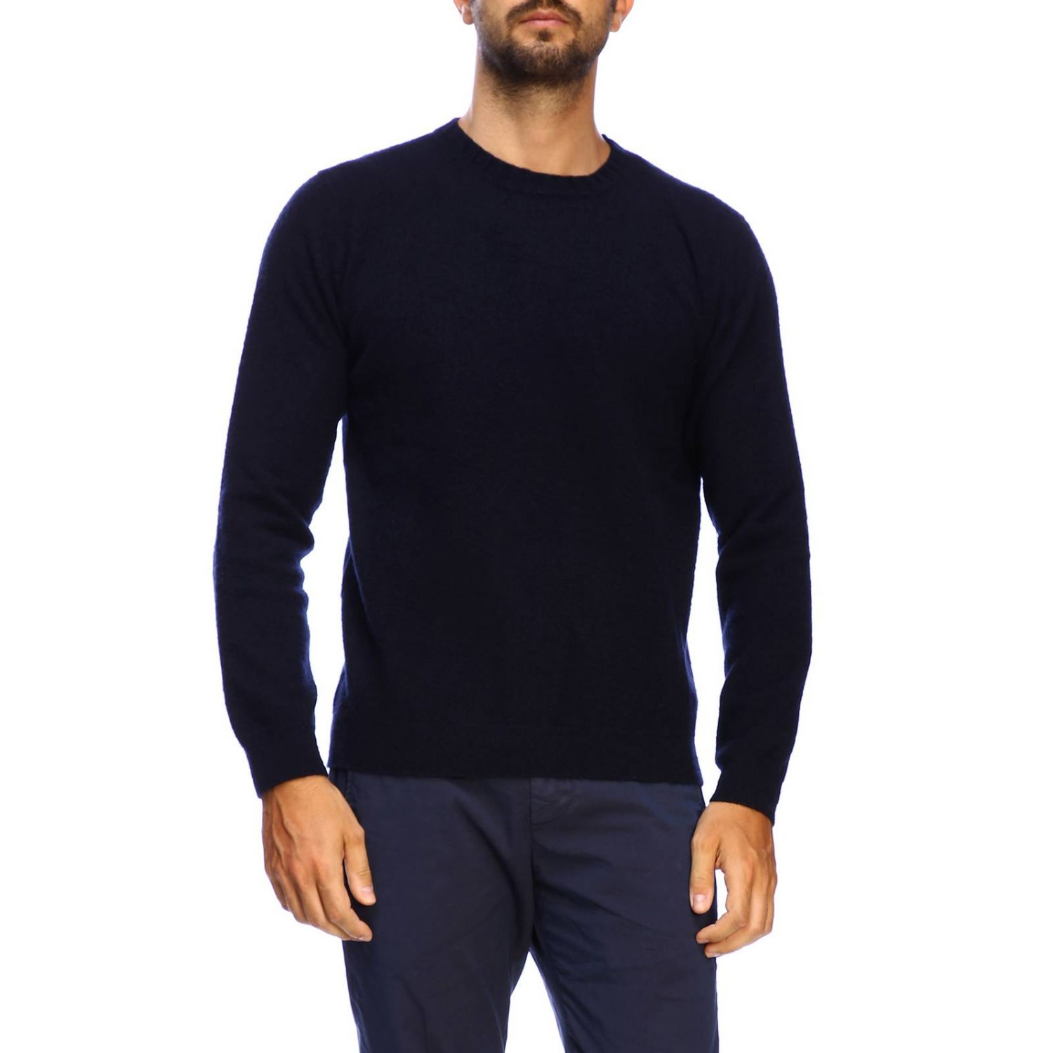 Sweater men Eleventy blue 1