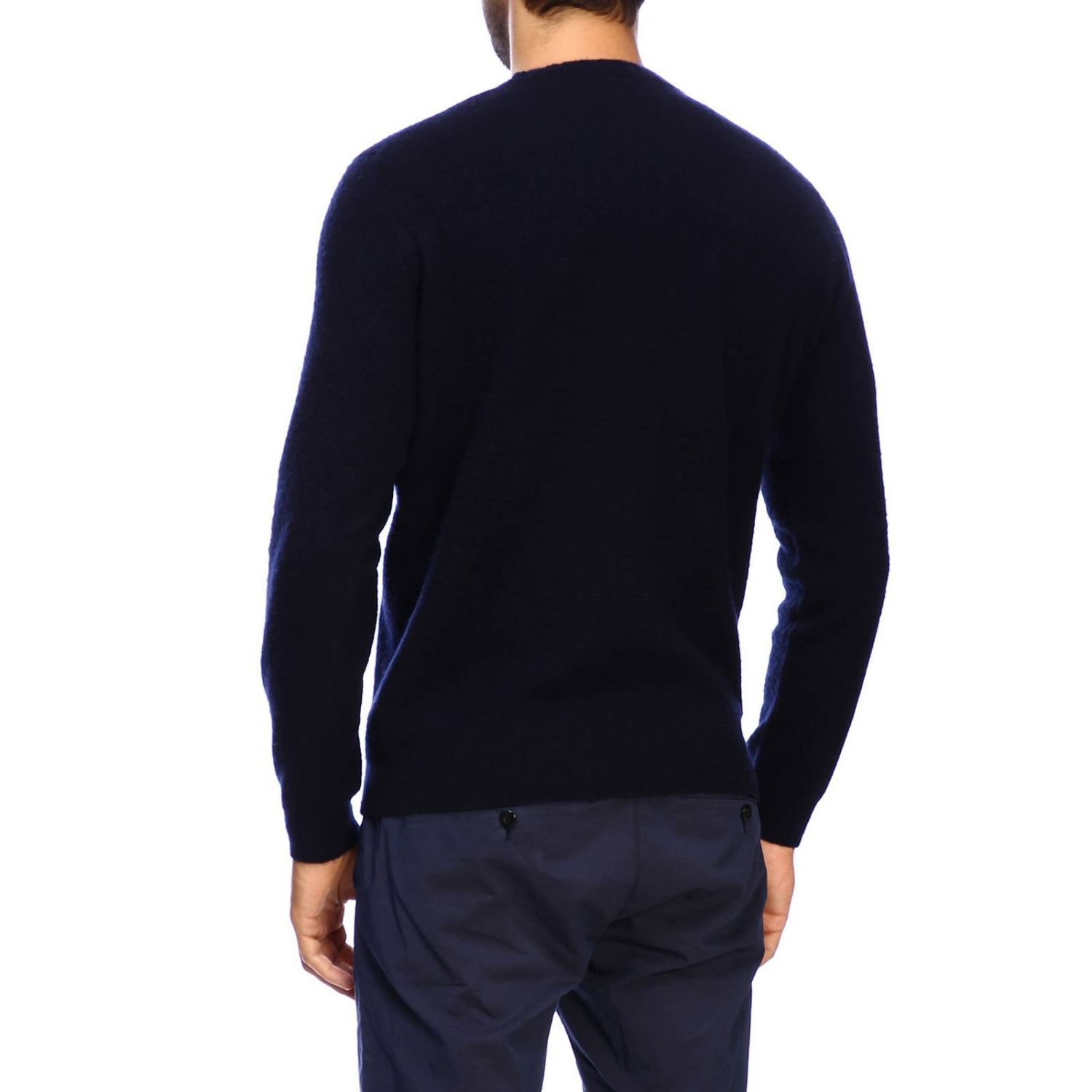 Sweater men Eleventy blue 3