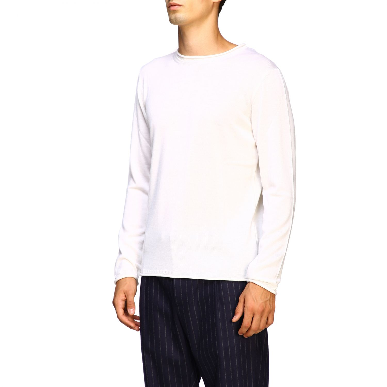 Sweater men Eleventy white 4