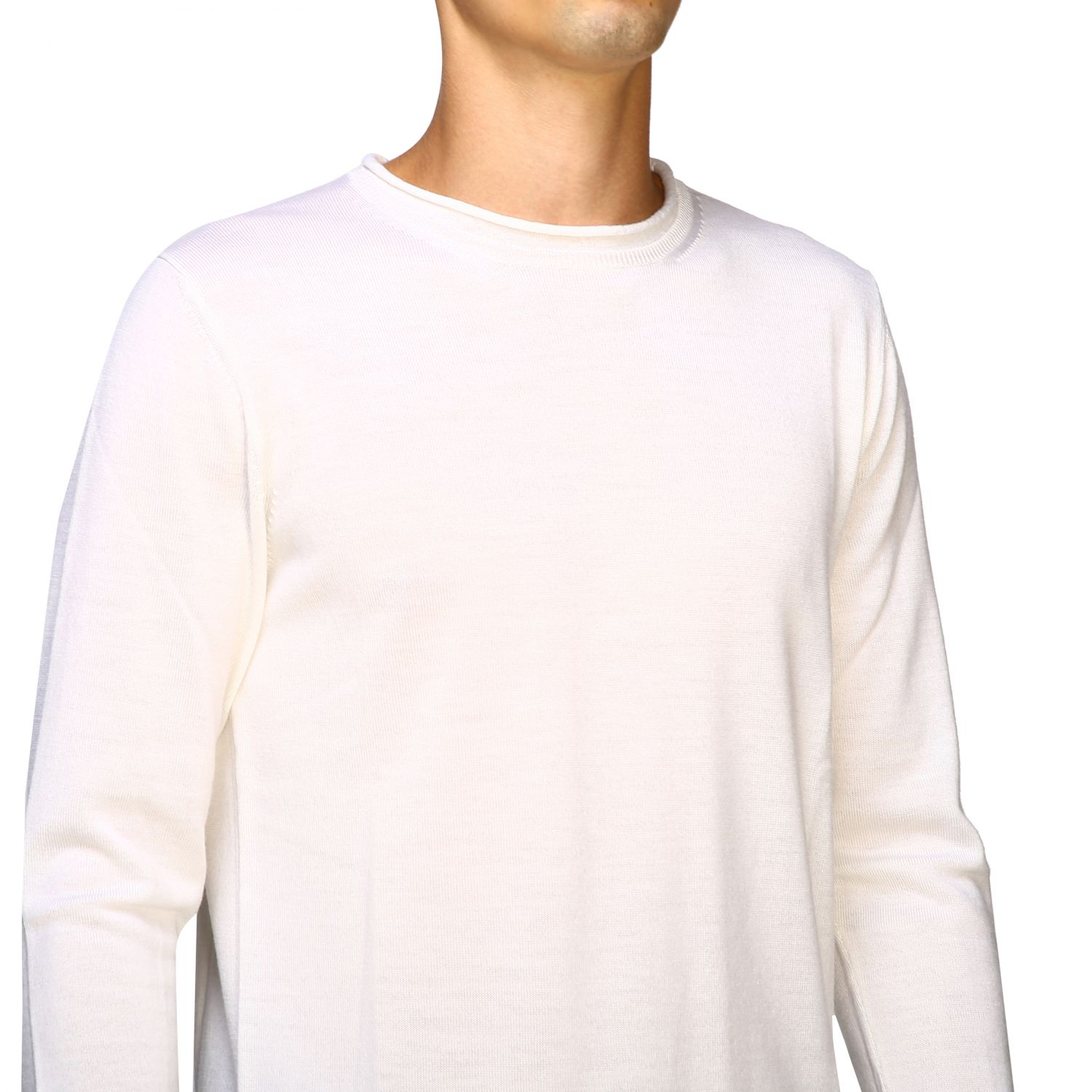 Sweater men Eleventy white 5