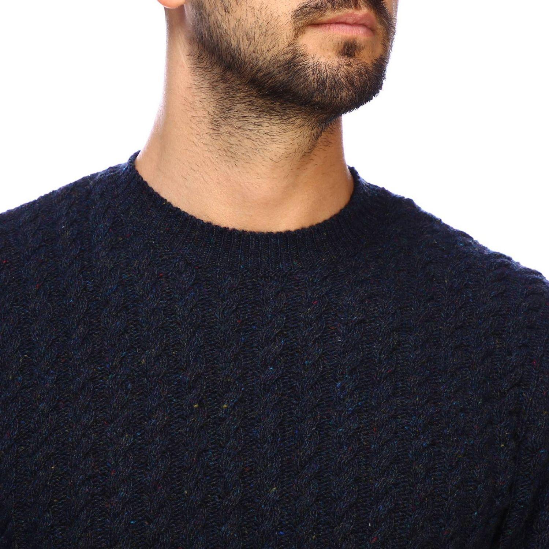 Sweater men Eleventy blue 4