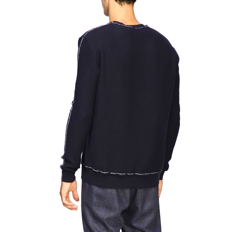 Sweater men Eleventy blue 3