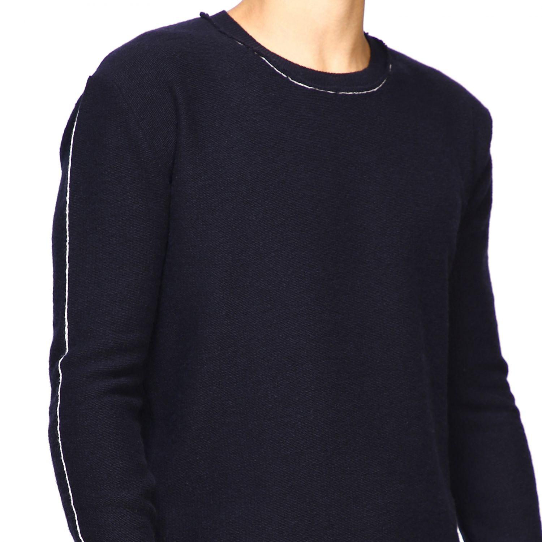 Sweater men Eleventy blue 5