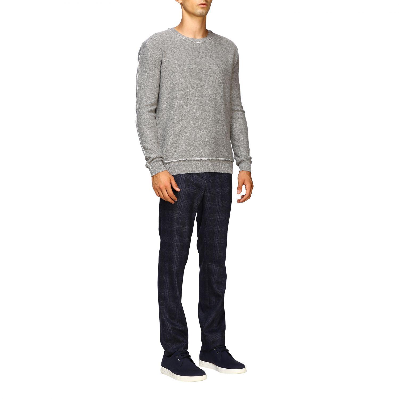 Sweater men Eleventy grey 2