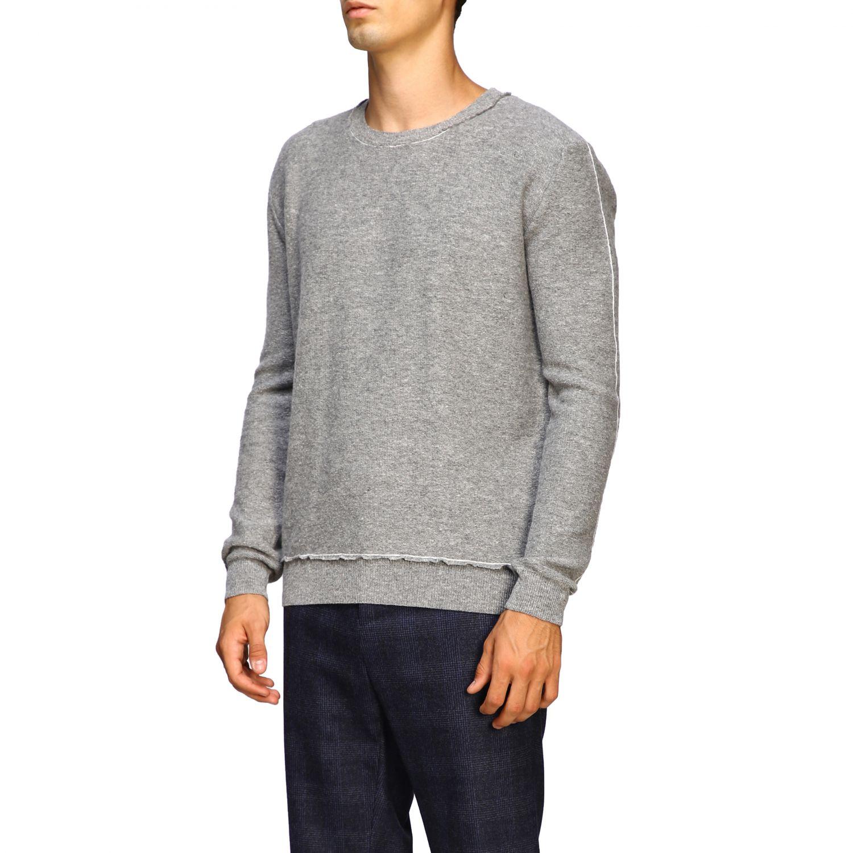 Sweater men Eleventy grey 4