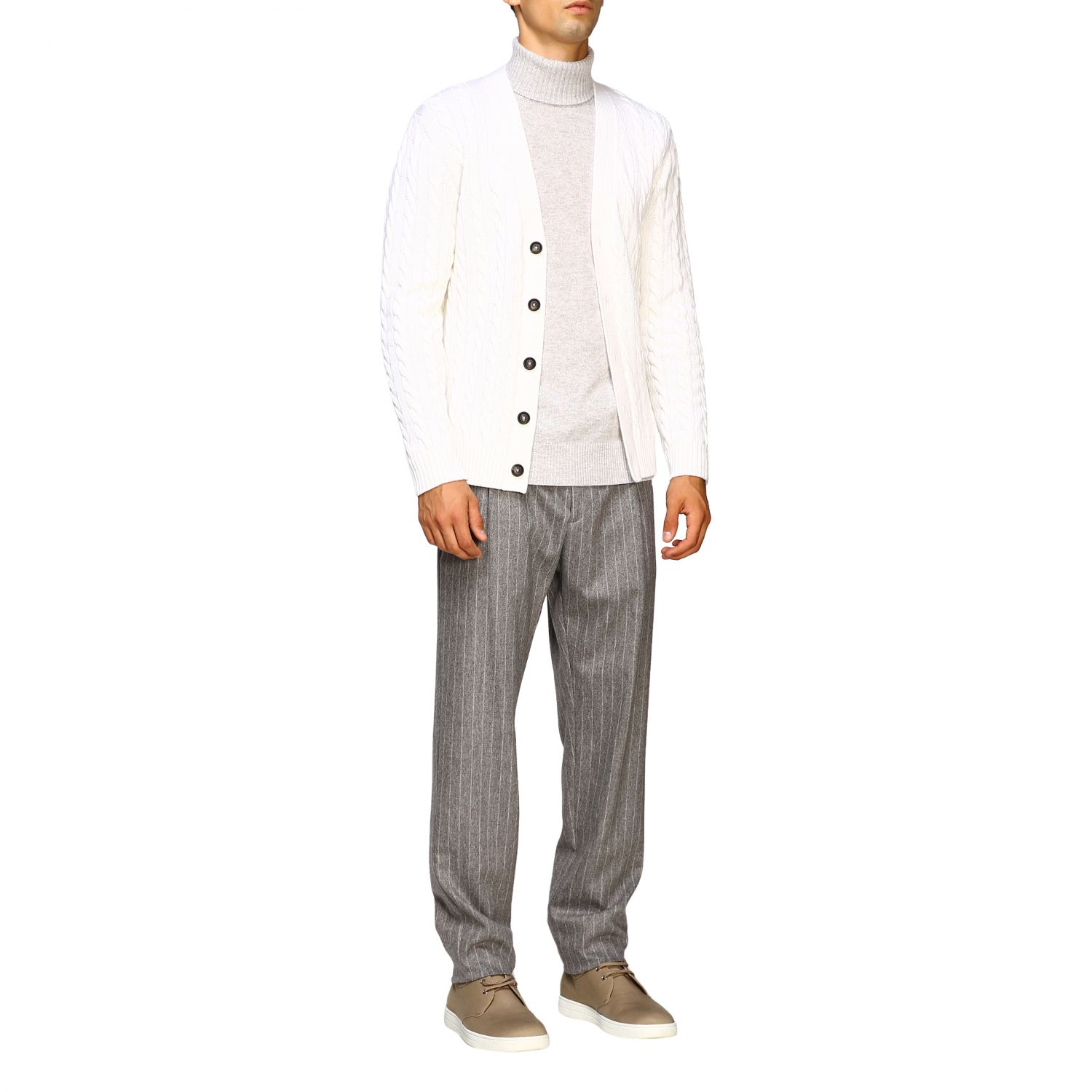 Pull homme Eleventy glace 2
