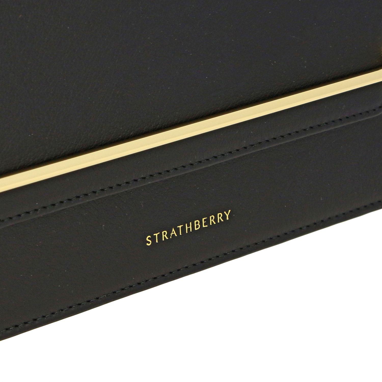 Bolso de hombro mujer Strathberry negro 3