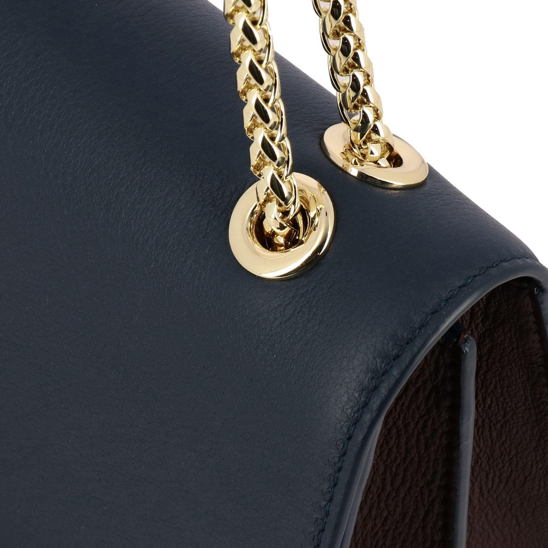 Bolso de hombro mujer Strathberry azul oscuro 3